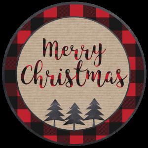 Merry Christmas Tags Printable. Free Christmas tags print for teacher gifts, gift wrap, neighbor gifts, or use to make a quick Christmas ornament.