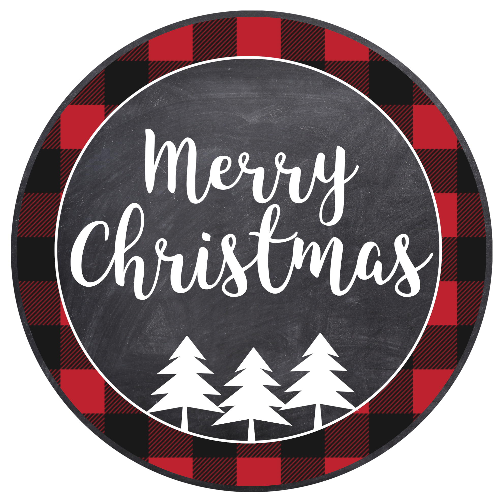 Merry Christmas Tags Printable - Paper Trail Design