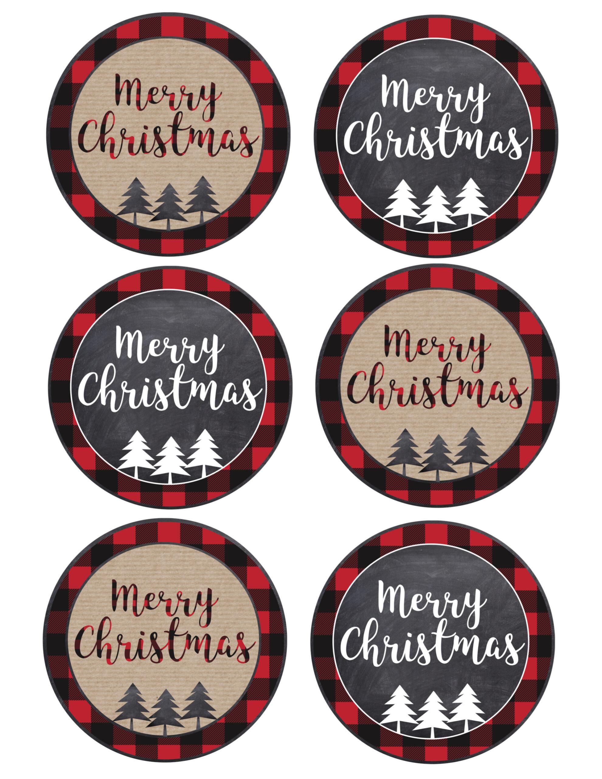 Christmas Tags.Merry Christmas Tags Printable Paper Trail Design