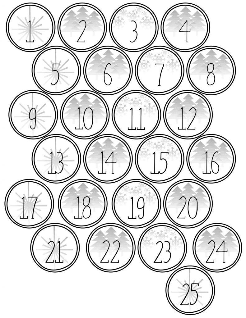 Nerdy image for free printable numbers