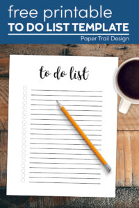 Daily to do list template with text overlay-free printable to do list template
