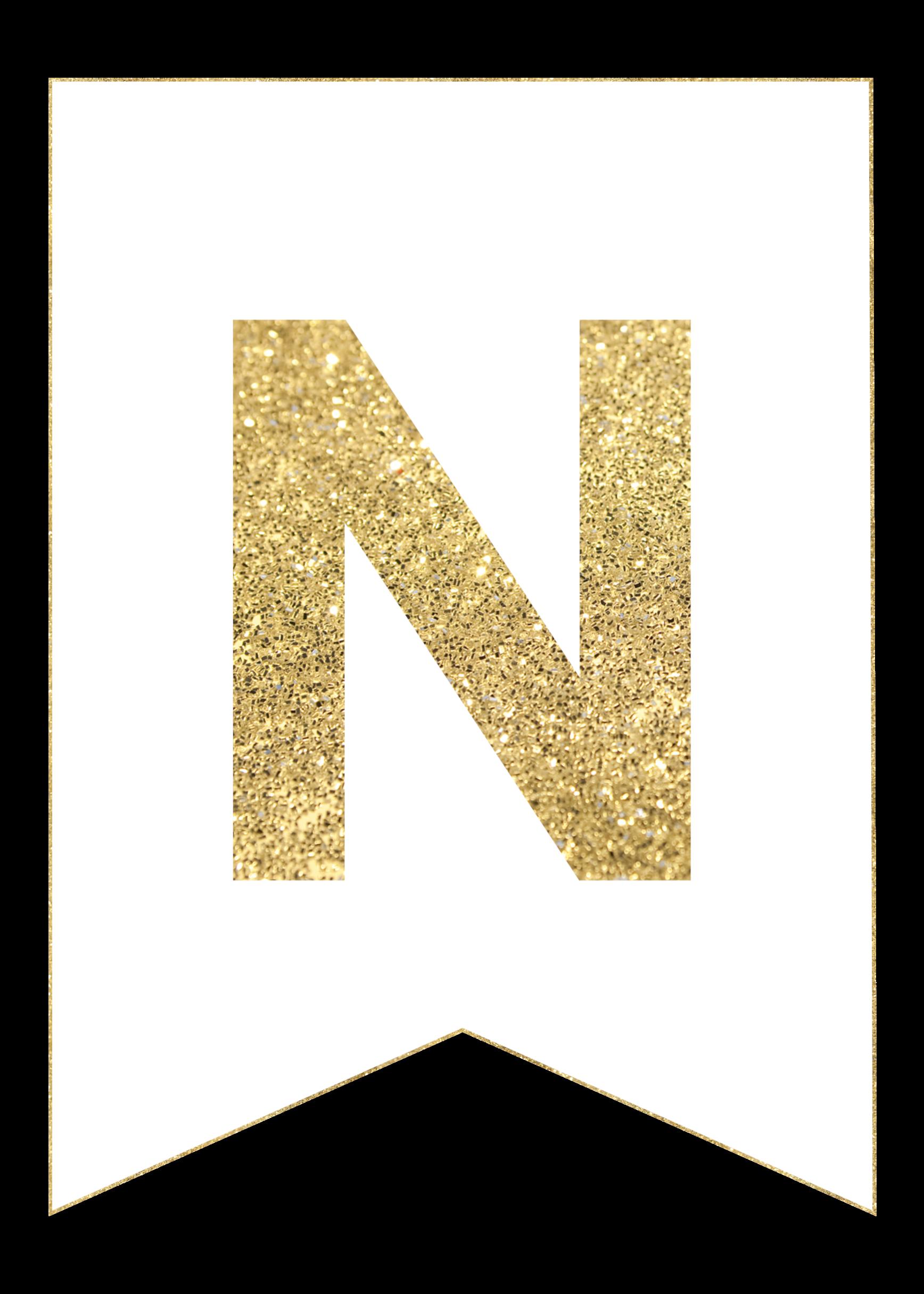 s gold alphabet banner letter t gold alphabet banner letter