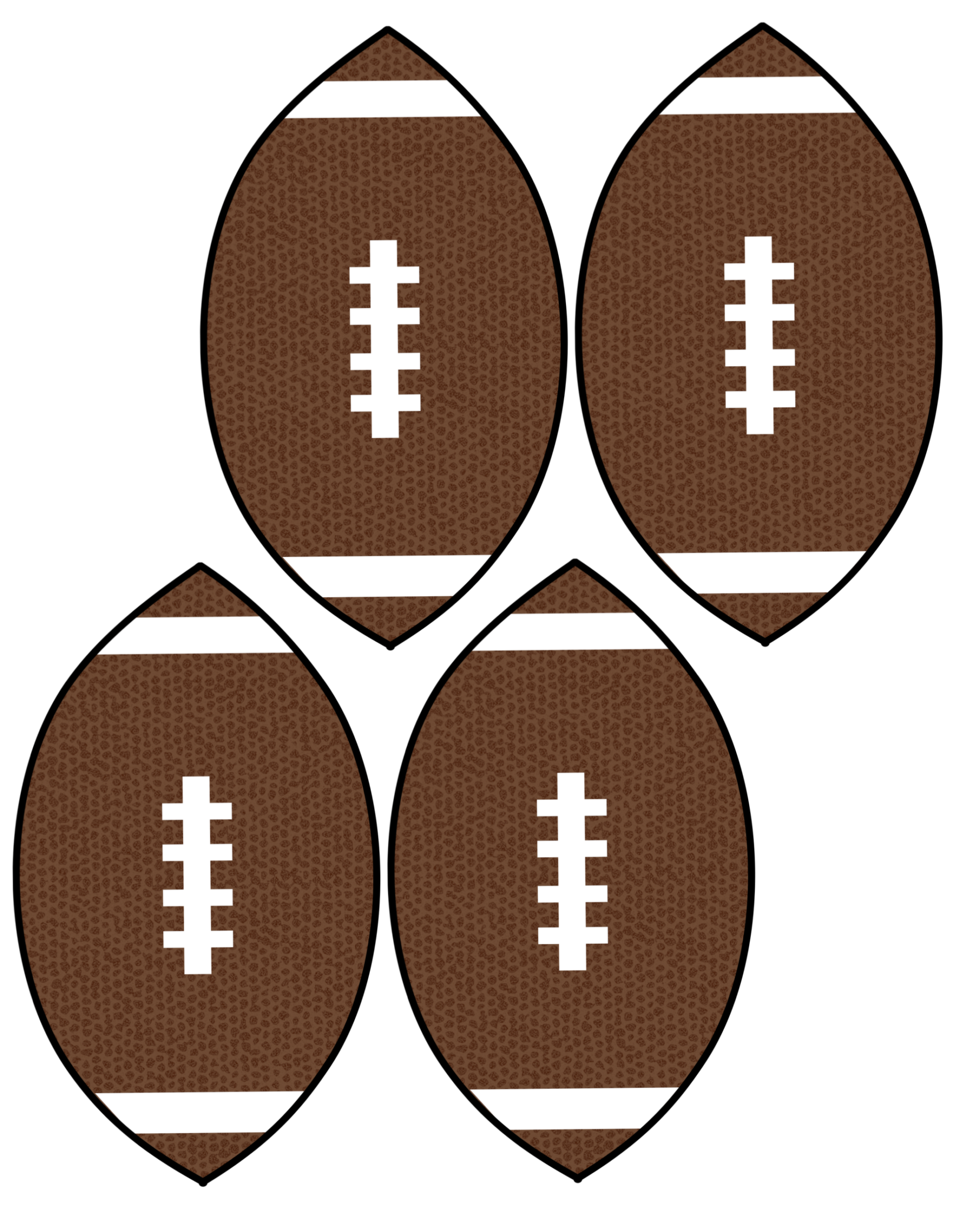image regarding Football Printable identified as Reasonably priced Tremendous Bowl Decorations Soccer Banner - Paper Path