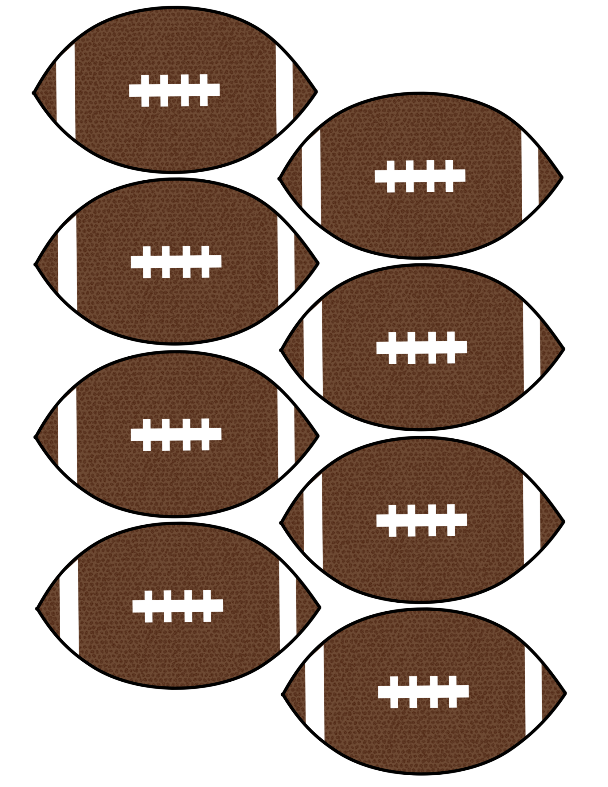Cheap Super Bowl Decorations {Football Banner} - Paper ...