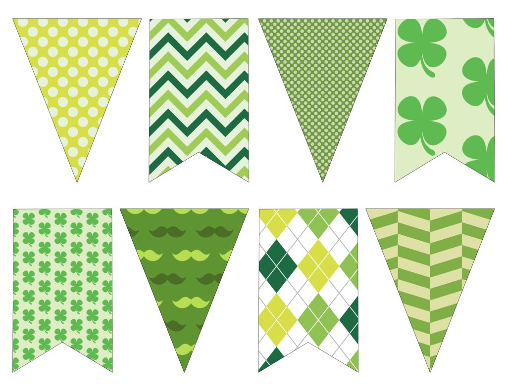 This is a graphic of Superb St Patrick's Day Clover Printable