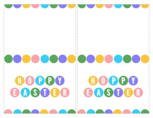 Happy Easter Cards Printable - Free. Easy DIY Easter idea. Free printable Easter cards pastel print for boys, girls or adults. #papertraildesign #happyeaster