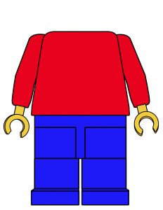 Pin the Head on the Lego Man Party Game Free Printable. Easy DIY lego party game idea. Lego theme party game on a budget. #papertraildesign #legoparty #legobirthday #lego