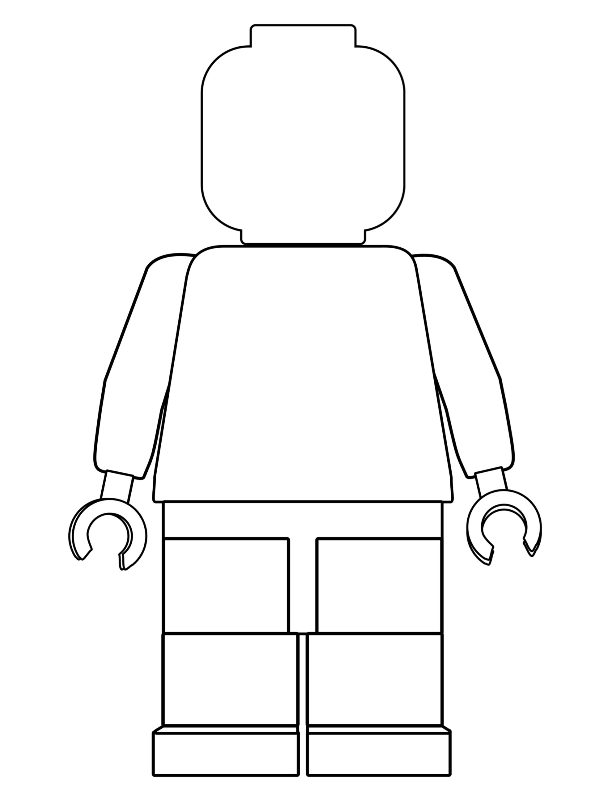 image regarding Printable Lego Coloring Pages titled Cost-free Printable Lego Coloring Webpages - Paper Path Design and style