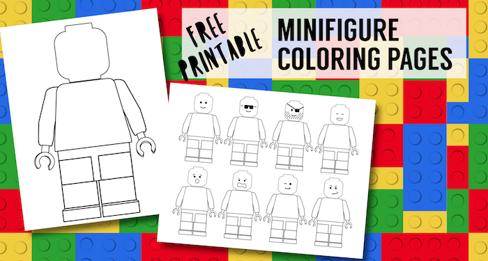 Free Printable Lego Coloring Pages | Paper Trail Design | 375x700