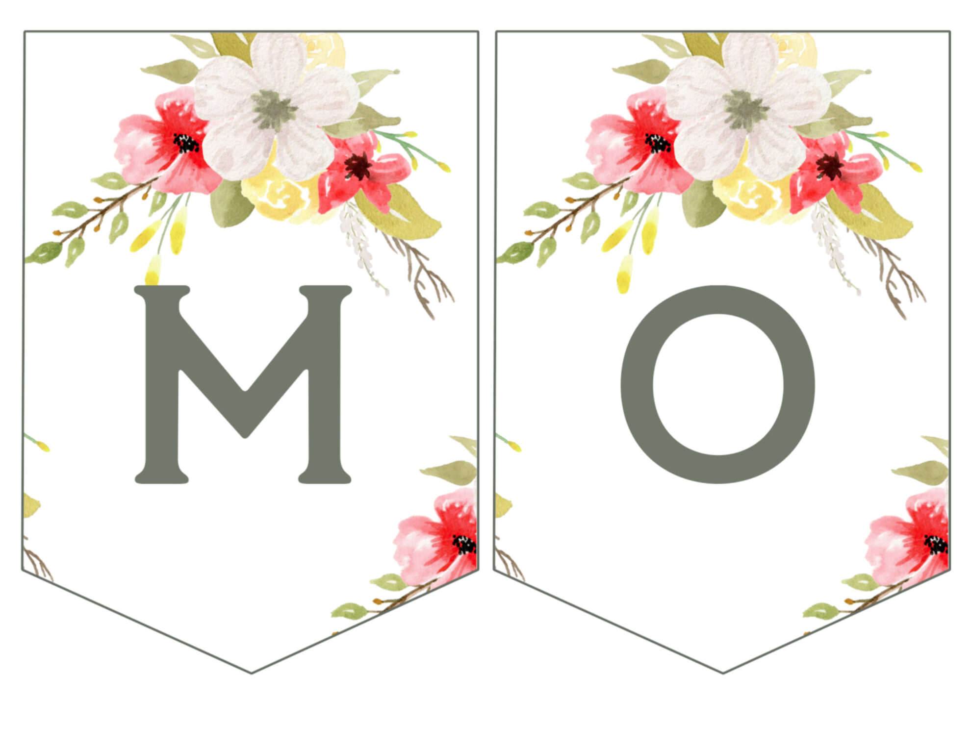 Mothers Day Banner M O