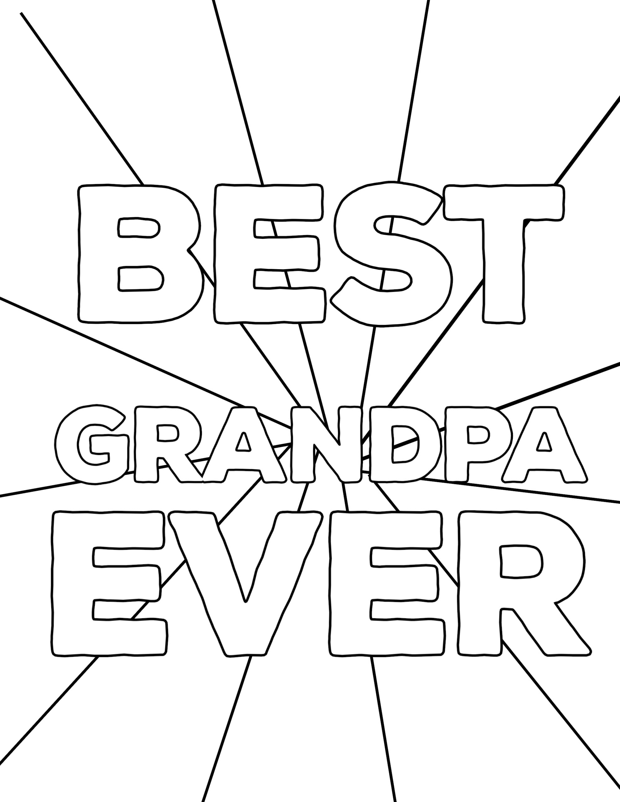 happy fathers day grandpa coloring pages happy father 39 s day coloring pages free printables paper