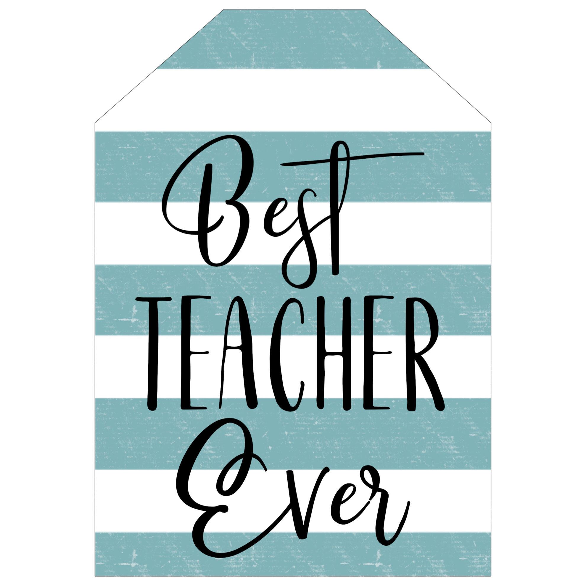 best teacher ever card free printables paper trail design