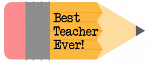 Free Printable Teacher Gift Tags {Pencil}. Teacher appreciation end of the year gifts. Best teacher gift ideas. Customizable. #papertraildesign #teacherappreciationideas #teachergifts #teachergiftideas