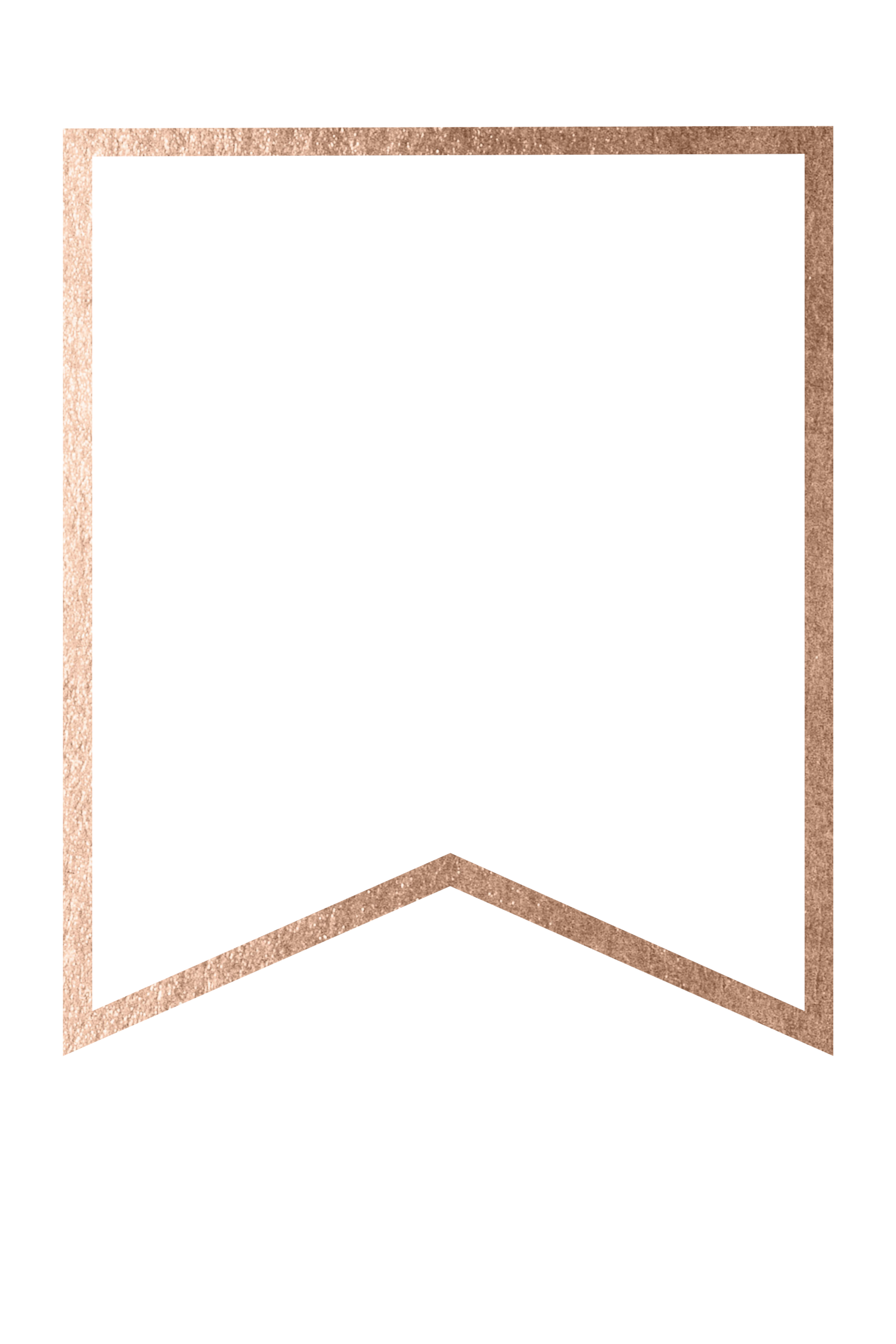 rose gold banner template free printable blank