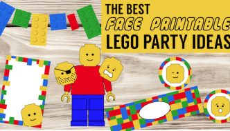 Best Lego Birthday Party Ideas {Free Printables}. Lego decorations, games, and activities for a kids birthday party. Boy birthday or girl birthday. #papertraildesign #lego #legoparty #legodecor