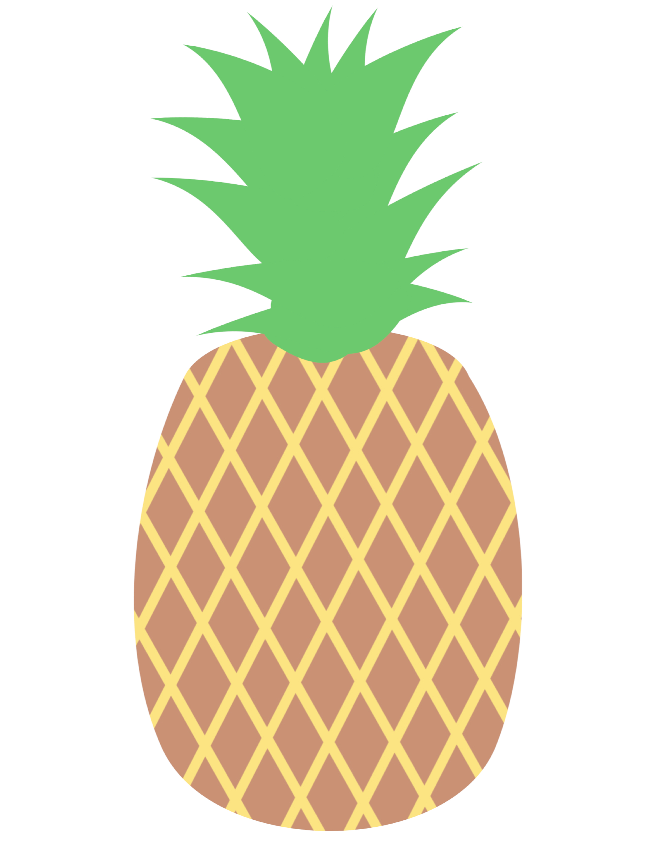 graphic about Printable Pineapple named Pineapple Get together Banner Cost-free Printable - Paper Path Style and design