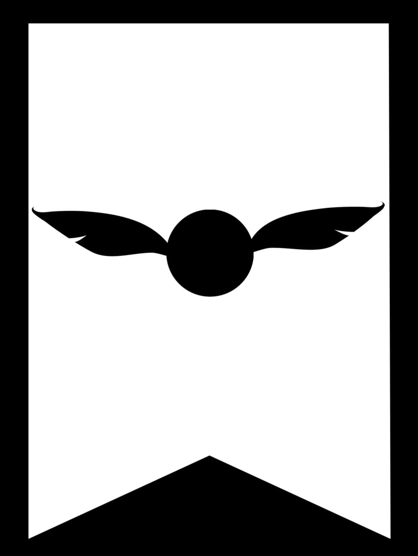 Snitch Harry Potter Banner Flag