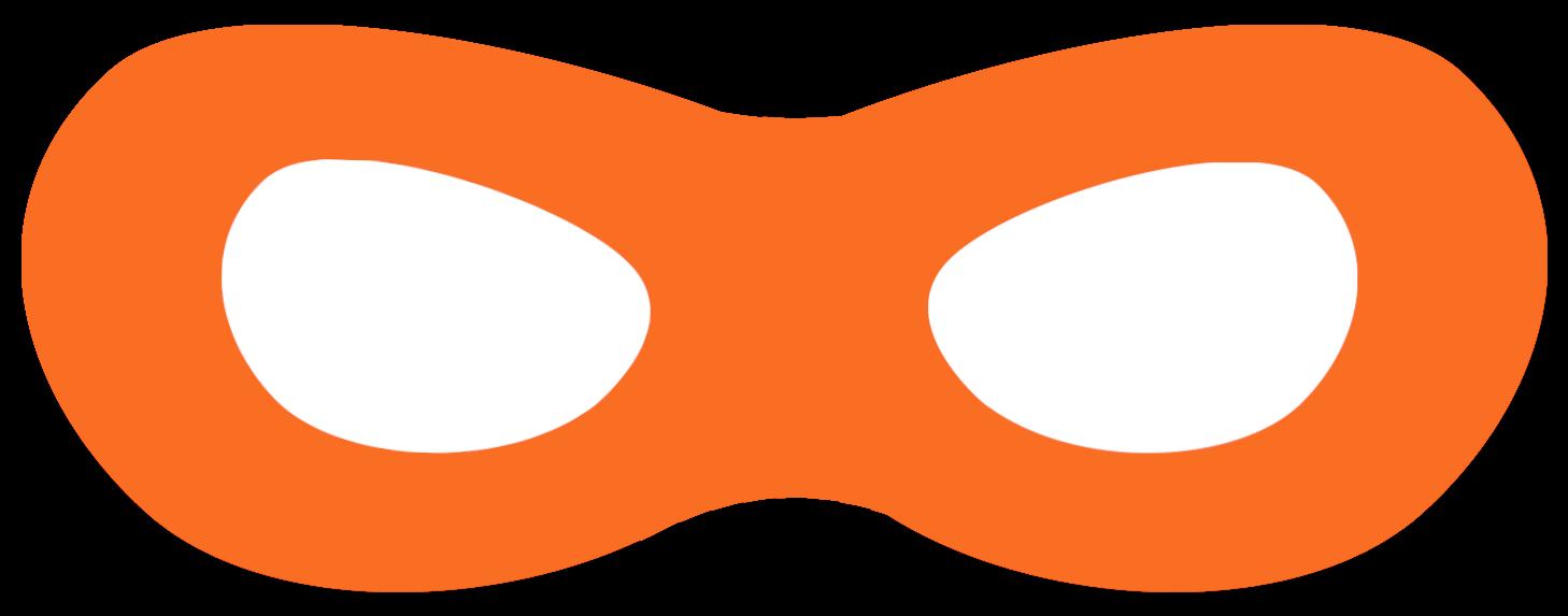 Incredibles free printable superhero masks paper trail design superhero mask free printable orange maxwellsz