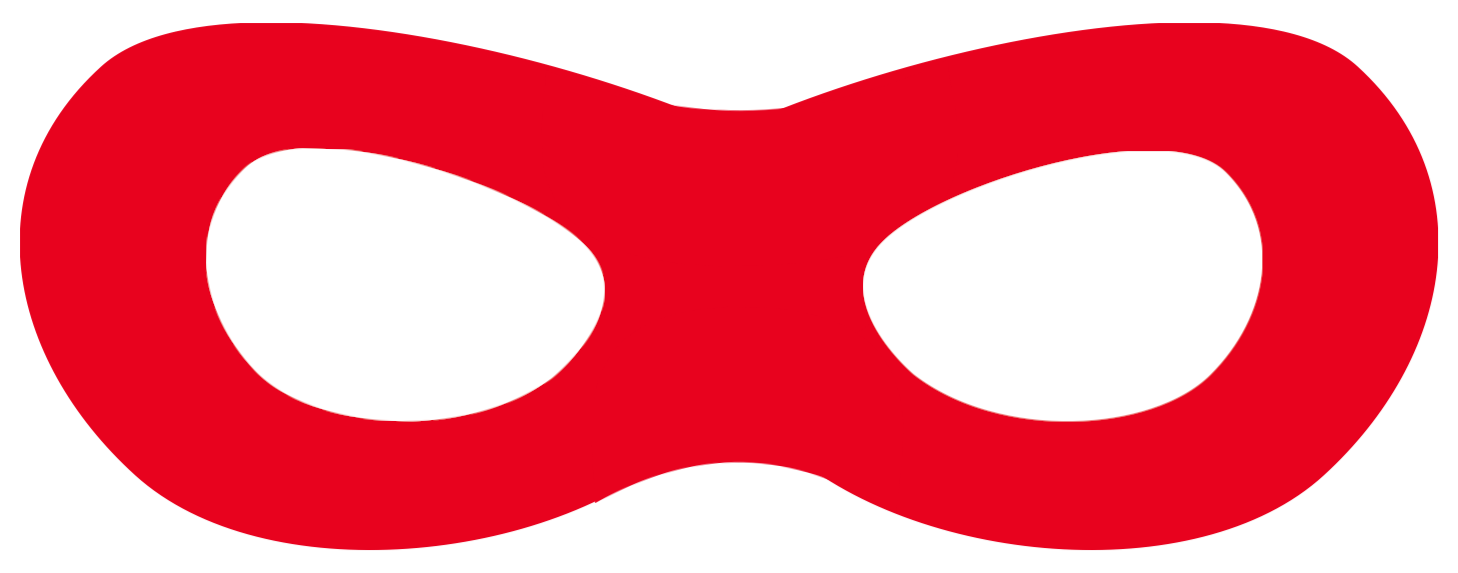 picture regarding Super Hero Printable Masks known as Incredibles Cost-free Printable Superhero Masks - Paper Path Layout