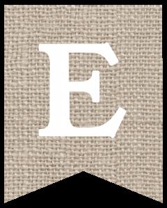 Free Printable Burlap Banner DIY Decor. Great for farmhouse decor. Fall decorations, Thanksgiving. Nice Autumn rustic or wedding decor. #papertraildesign #burlap #burlapbanner #decor