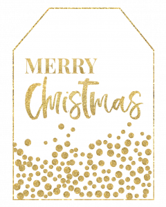 Gold Free Printable Christmas To From Tags. Easy DIY gift tags. Merry Christmas, Happy Holidays, reindeer, Christmas tree. #papertraildesign #christmasgifts #christmastags #christmaswrapping #goldchristmastags