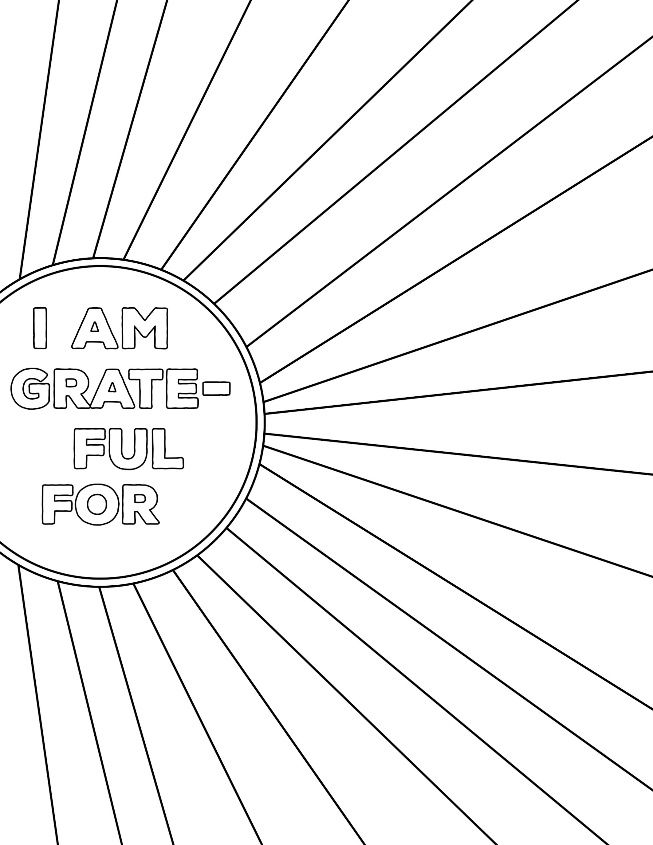 I Am Thankful for Worksheet Free Printable   Paper Trail ...
