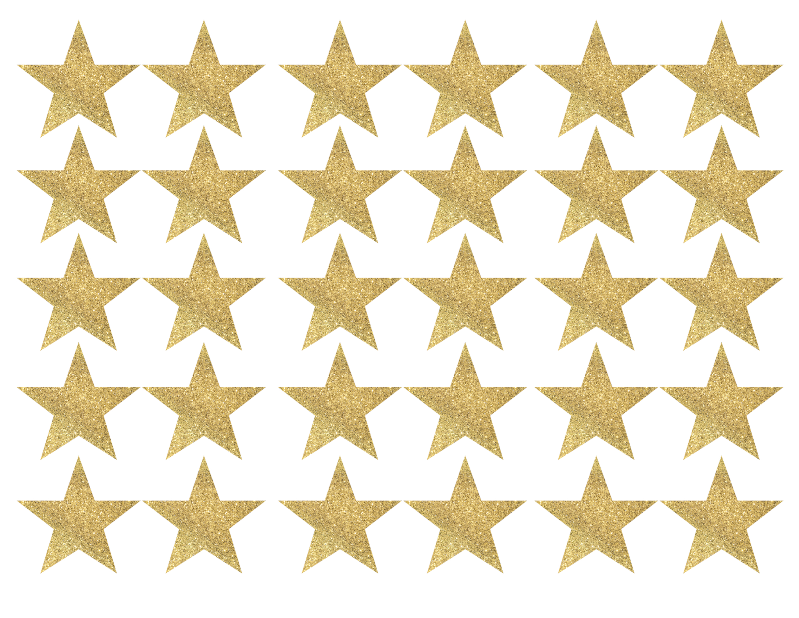 photograph relating to Stars Printable called Gold Star Banner Xmas Garland Printable - Paper Path