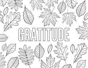 Thanksgiving Coloring Pages Free Printable. Grateful, Thankful, Gratitude, Give Thanks, and Thanksgiving for kids and adults. #papertraildesign #thanksgiving #thankful #grateful #gratitude #coloringpage #givethanks