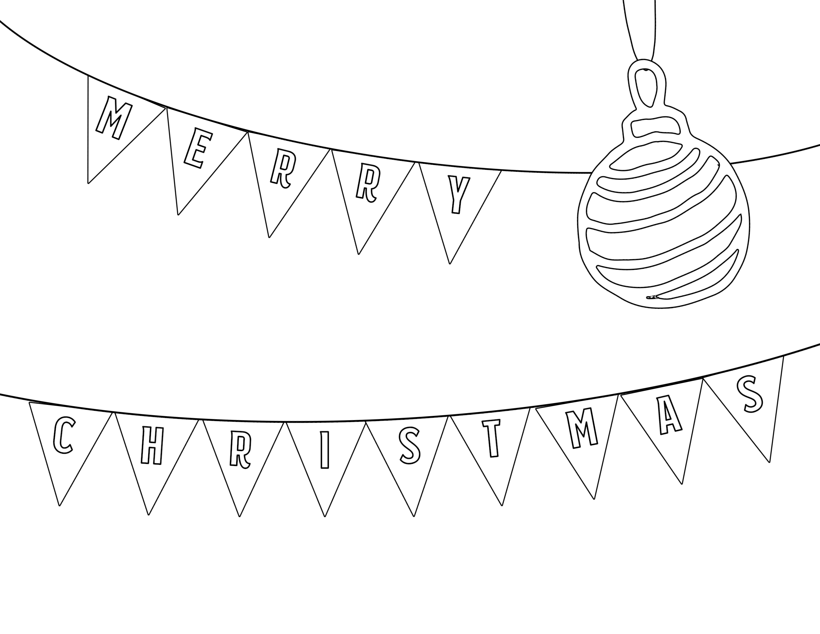 Free Printable Christmas Coloring Pages Paper Trail Design