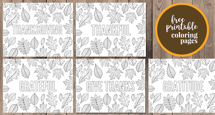 Thanksgiving Coloring Pages Free Printable Paper Trail