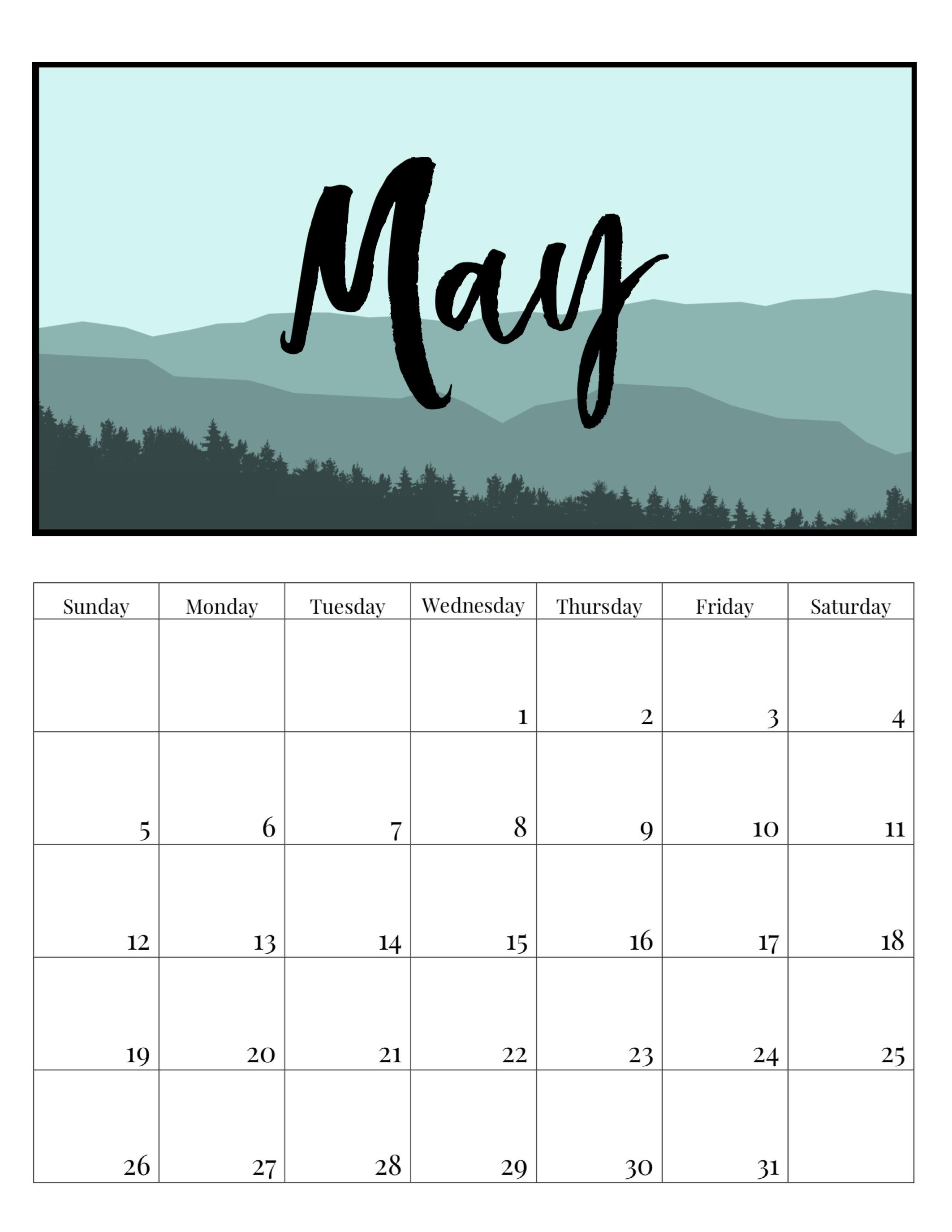 Calendar October 2019 Download