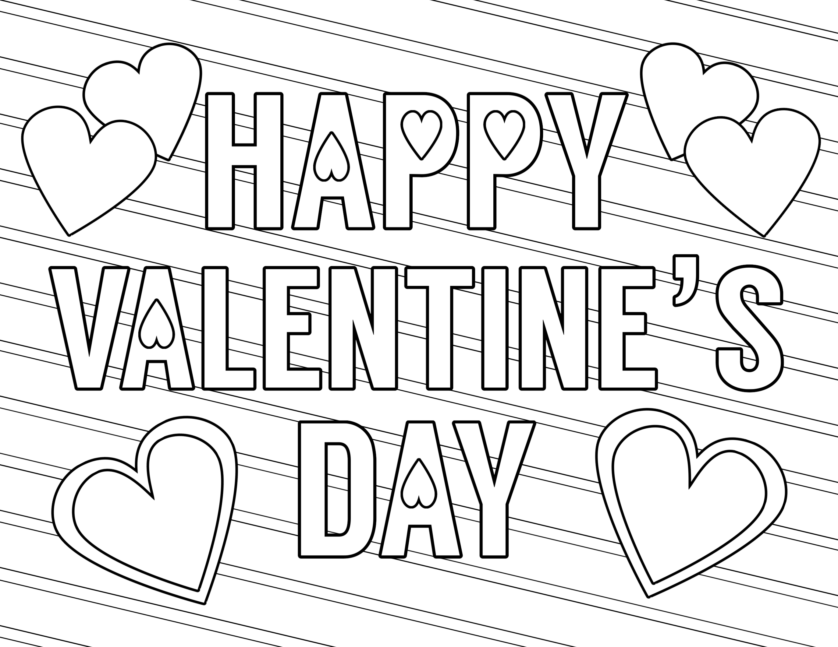 picture regarding Valentine Day Coloring Pages Printable known as Absolutely free Printable Valentine Coloring Internet pages - Paper Path Style