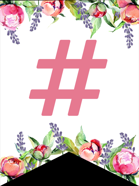 Floral Free Printable Alphabet Letters Banner Paper Trail Design