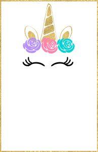 Free Printable Unicorn Invitations Template. Girls unicorn birthday invitation or unicorn baby shower invitation. DIY kids birthday ideas. #papertraildesign #unicorninvitations #birthdayinvitations #babyshowerinvitations #gold #goldunicorn #youreinvited #invitation #DIY #easyDIY #digitalinvitations #unicorncake #girlsbirthday #itsagirl #kidsbirthday