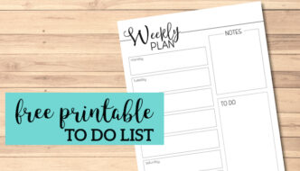 Weekly Planner Template Free Printable. Organize your week with this free printable. Pages for your notebook planner organizer. #papertraildesign #planner #weekly #weeklyplanner #weeklyplan #weekplan #weekplanner #organize #organization #office #home #homeorganization