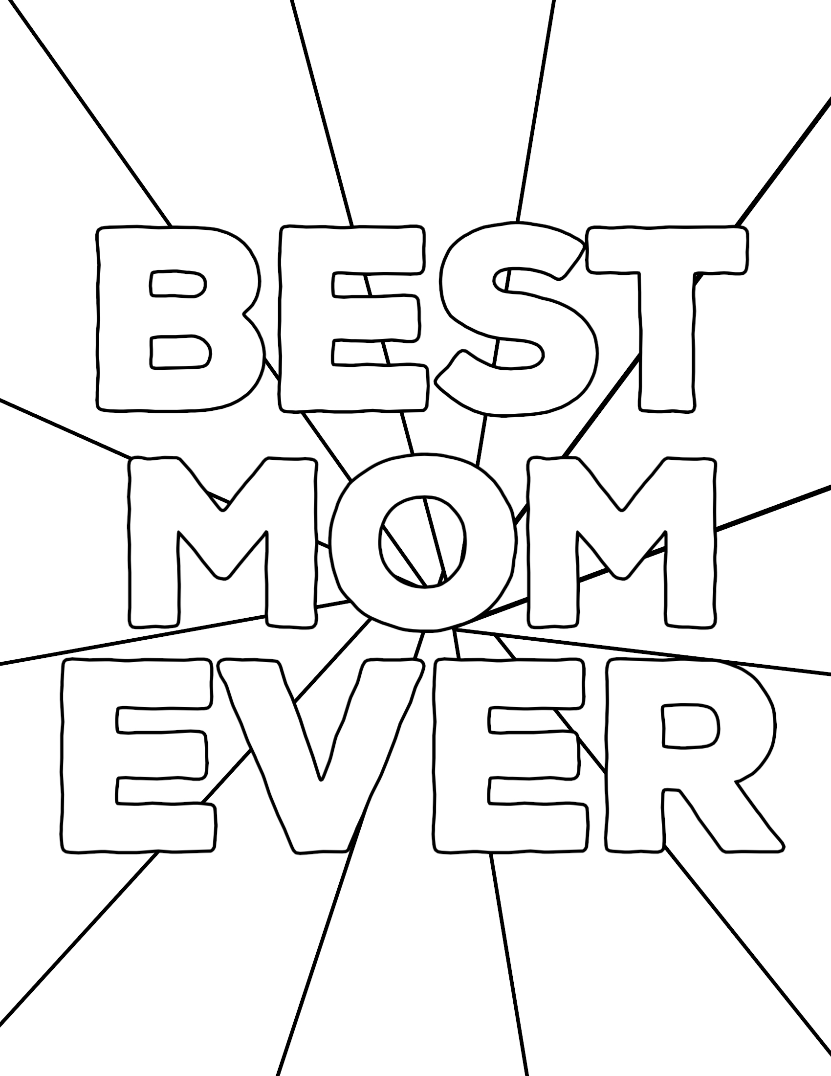 Free Printable Mother's Day Coloring Pages - Paper Trail ...