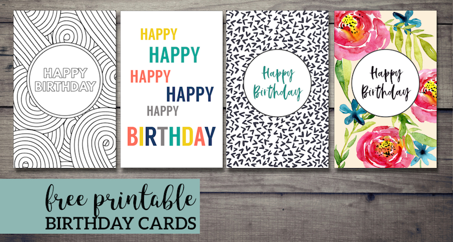 Free Printable Birthday Cards. Happy birthday greeting cards for a boy, girl, kids or adults. Floral, color in, simple colorful, and pattern. #papertraildesign #Birthday #birhtdaycard #happybirthday #happybirthdaycard #birthdays #birthdaycards #DIYbirthdaycard #easybirthdaycard #freebirthdaycard #freeprintable