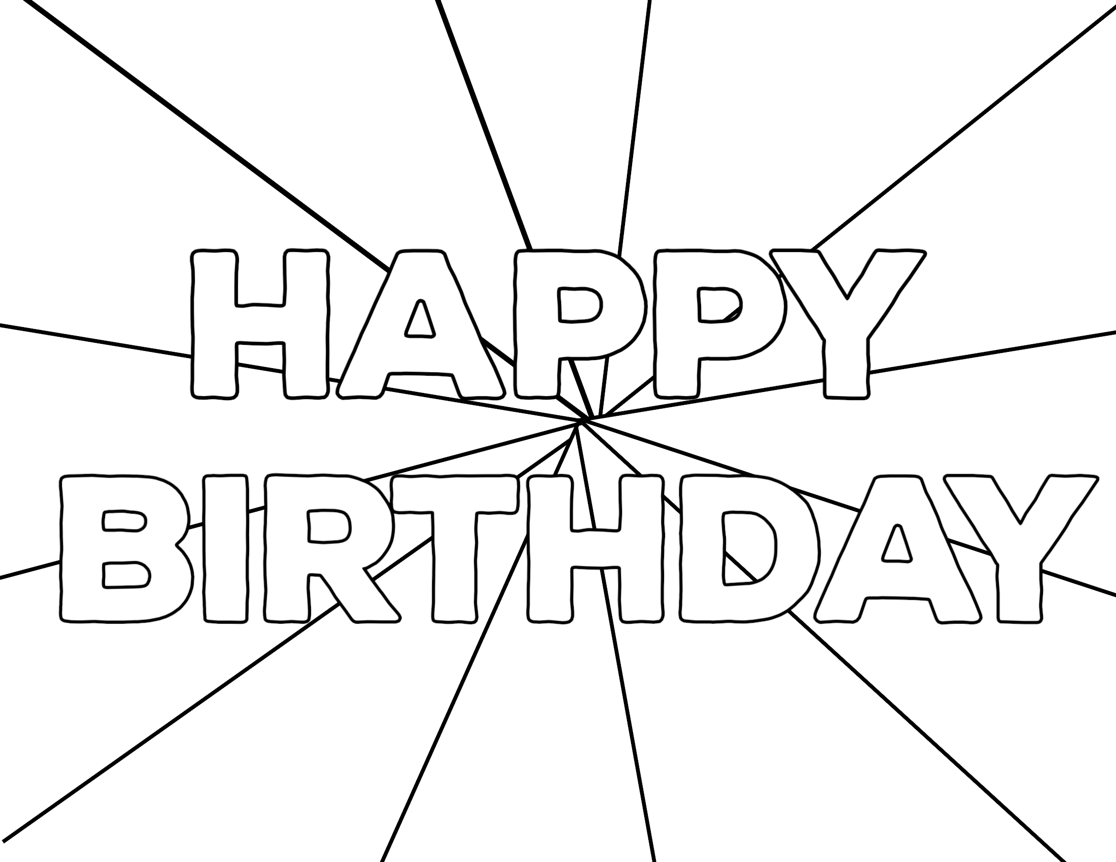 photograph about Printable Happy Birthday Coloring Pages called No cost Printable Satisfied Birthday Coloring Web pages - Paper Path