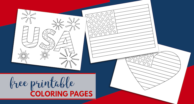 - Free Printable 4th Of July Coloring Pages Paper Trail Design