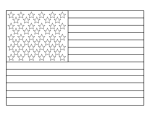 Free Printable 4th of July Coloring Pages. American flag heart, USA, and American flag coloring page. Mermorial Day and Vetrans Day coloring sheets. #papertraildesign #amercianflagcoloringpage #memorialday #vetransday #supportourtroops