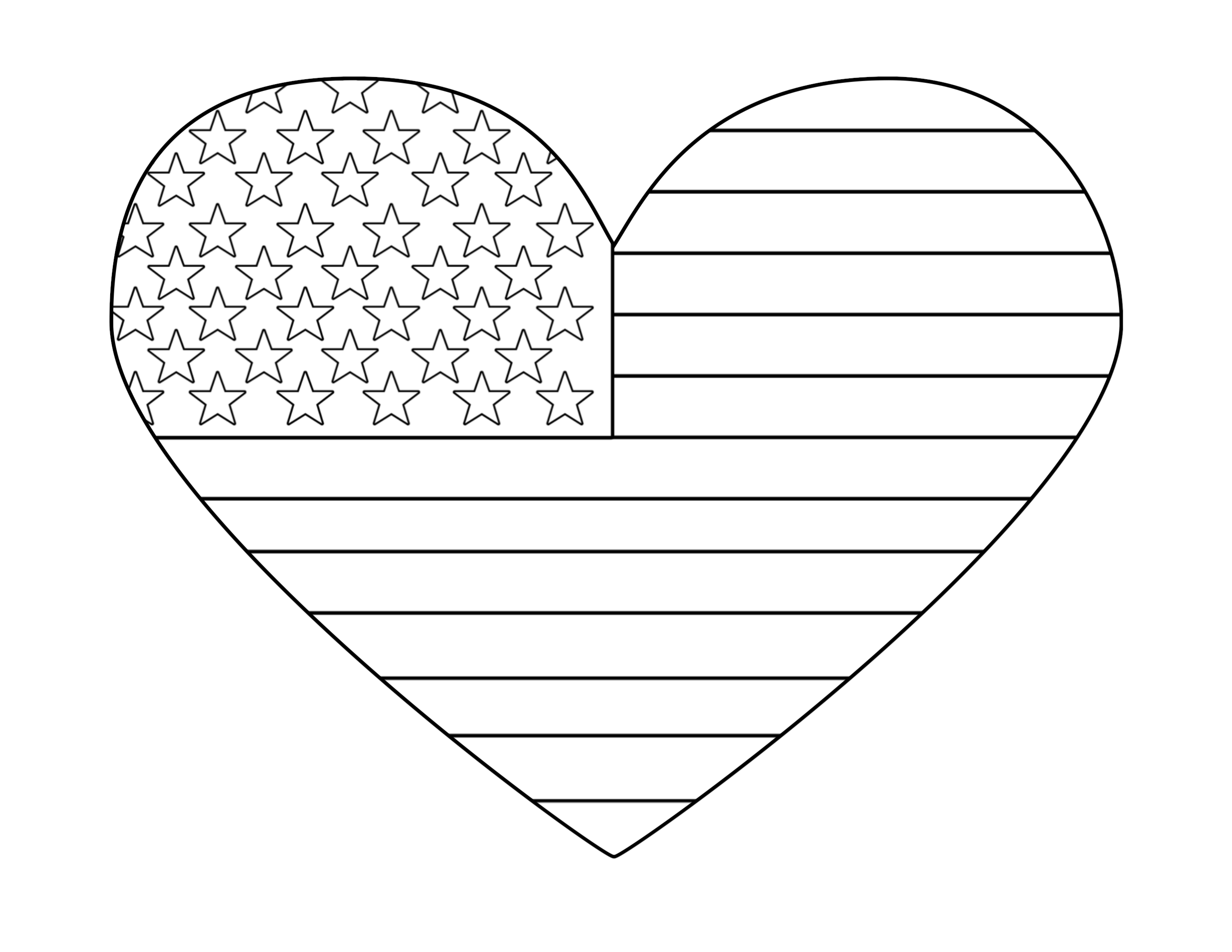 graphic about American Flag Printable identify Cost-free Printable 4th of July Coloring Webpages - Paper Path Style