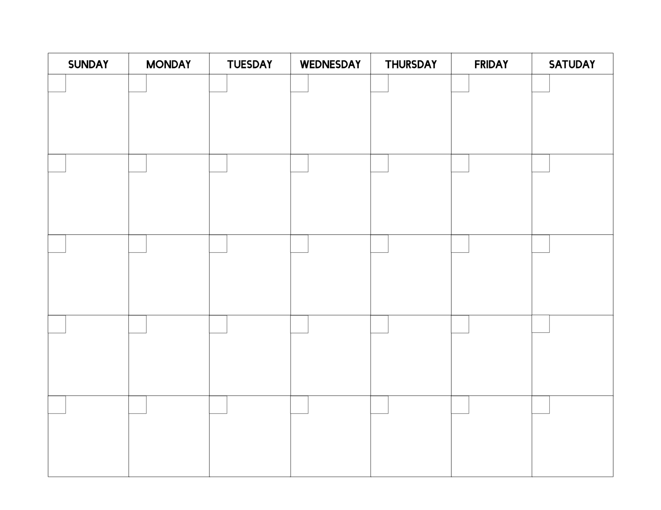 image about Free Printable Blank Calendars known as Free of charge Printable Blank Calendar Template - Paper Path Structure