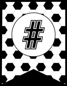 Soccer Banner Symbol #