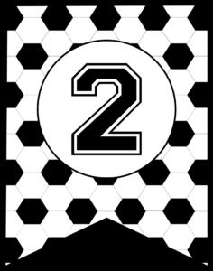Soccer Banner Number 2
