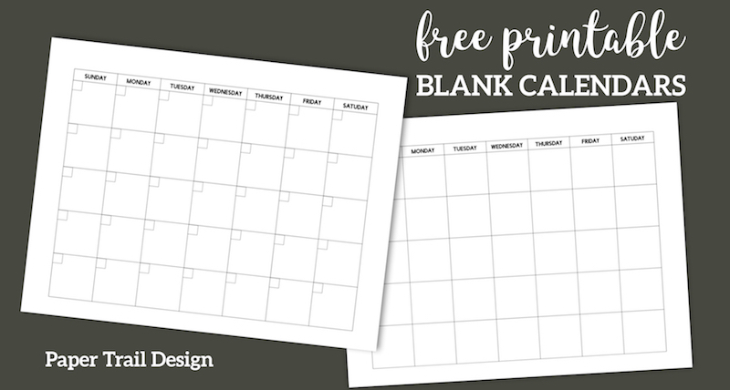 blank calendar templates free  »  7 Picture »  Awesome ..!