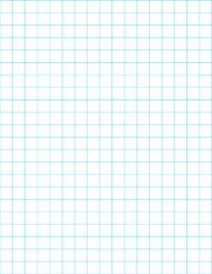 Free Printable Graph Paper. Half inch, quarter inch, and eighth inch grid paper in blue or black for school, math class or cross stitch. #papertraildesign #gridpaper #free #freegridpaper #math #freeprintablegridpaper