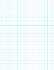 Free Printable Graph Paper. Half inch, quarter inch, and eighth inch grid paper in blue or black for school, math class or cross stitch. #papertraildesign #graphpaper #freegraphpaper #freeprintablegraphpaper #math #crossstitch