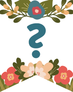 Question Mark Flower Alphabet Banner Letters Free Printable