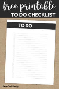 To do checklist printable with text overlay- free printable to do checklist
