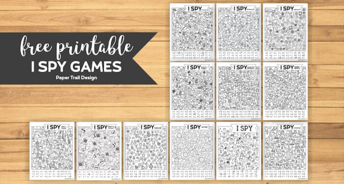 40+ I Spy Game Printables